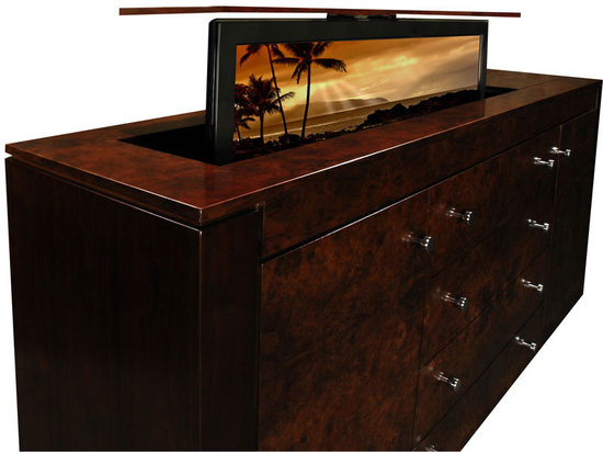 Tv Inside Cabinet How To Build A Hidden Tv Lift Cabinet  Tracy Lynn Studio