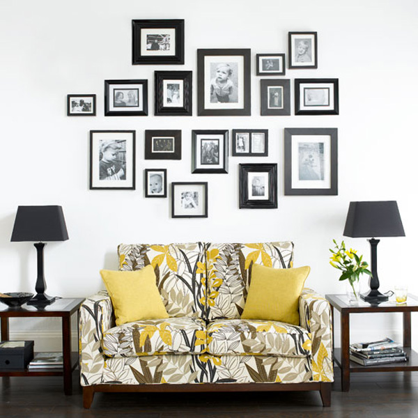 Frame for living room