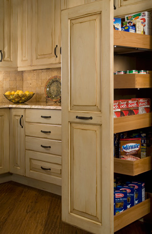 Kitchen Cabinet Organization Tips - Tracy Lynn Studio