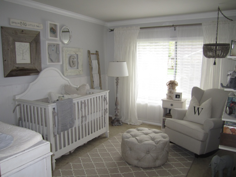 Tracy Lynn Studio's baby nursery interior design project.